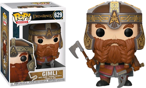 The Lord of the Rings - Gimli Pop! Vinyl Figure - Pre-Order