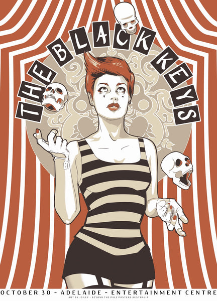 The Black Keys - Adelaide 2012 Limited Edition Print