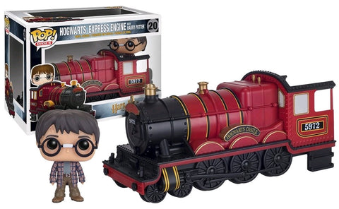 Harry Potter - Harry Potter with Hogwarts Express Engine Pop! Ride Vinyl Figure