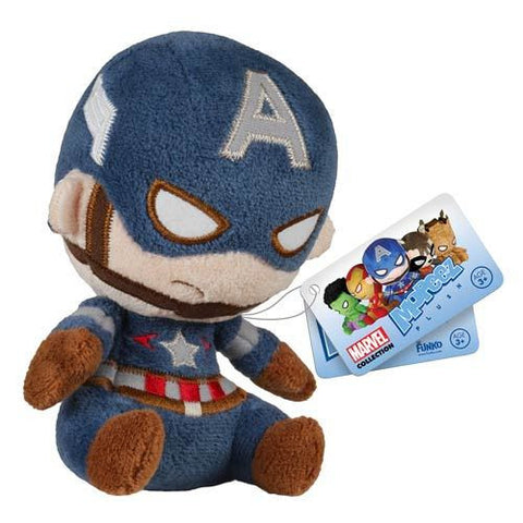 Captain America - Marvel Mopeez Plush
