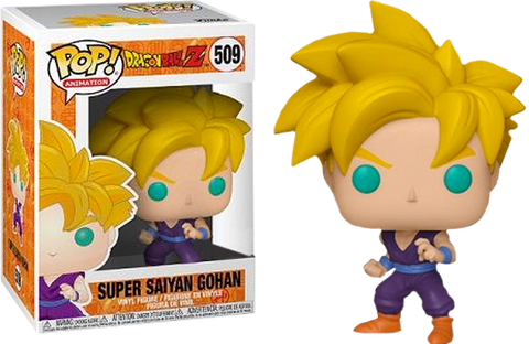 Dragon Ball Z - Super Saiyan Gohan Pop! Vinyl Figure - Pre-Order