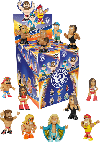 WWE - Series 1 Mystery Mini Blind Box Case of 12 Figures