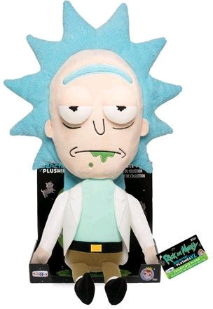Rick and Morty - Rick 16 Inch Plush Figure in Tray