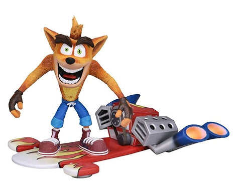 "Crash Bandicoot - Hoverboard Crash 7"" Action Figure - Pre-Order"
