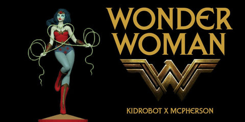 Wonder Woman - Kidrobot Figure by Tara McPherson - Pre-Order