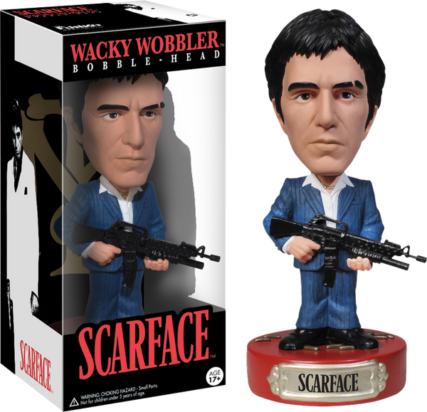 Scarface - Wacky Wobbler Bobble-Head