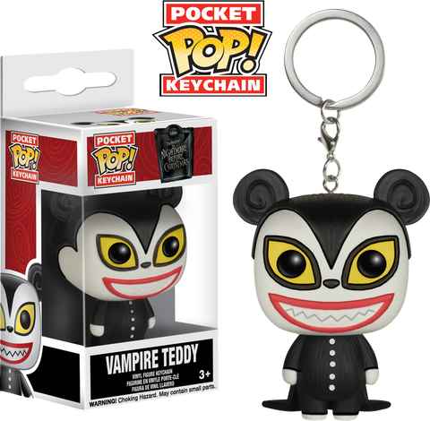 The Nightmare Before Christmas - Vampire Teddy Pocket Pop! Keychain