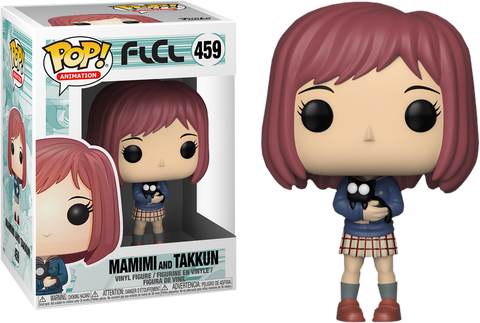 FLCL - Mamimi with Takkun Pop! Vinyl Figure - Pre-Order