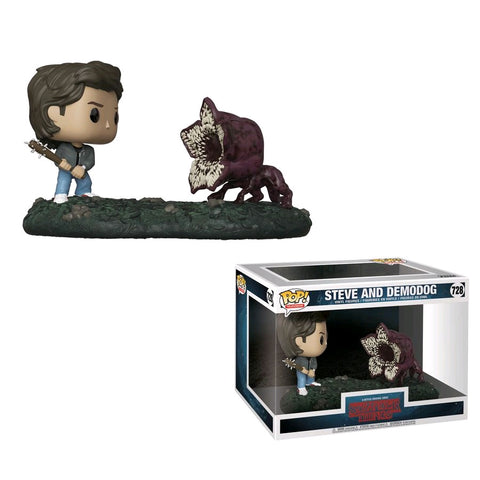Stranger Things - Steve vs Demodog Movie Moments Pop! Vinyl Figure 2 Pack - Pre-Order