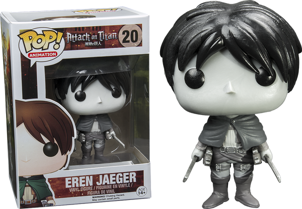 Attack on Titan - Eren Black & White Pop! Vinyl Figure