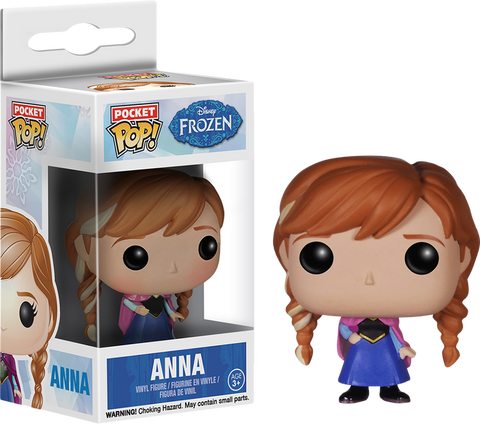 Frozen - Anna Pocket Pop! Keychain