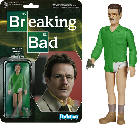 Breaking Bad - Walter White Underpants ReAction Figure
