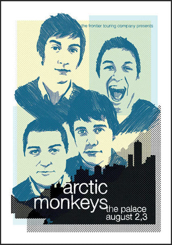 Arctic Monkeys - Melbourne 2006 Limited Edition Print