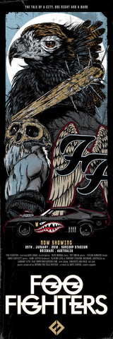 Foo Fighters - Brisbane 2018 Limited Edition Print - Pre-Order