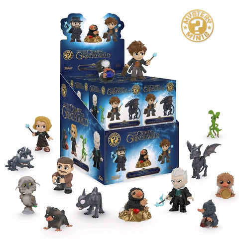 Fantastic Beasts 2: The Crimes Of Grindelwald - Mystery Minis: Case of 12 Blind Boxes - Pre-Order