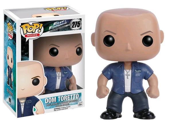 The Fast & the Furious - Dom Toretto Pop! Vinyl Figure