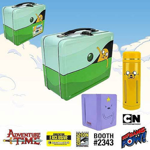 Adventure Time - Traveling Jake Tin Tote Gift Set