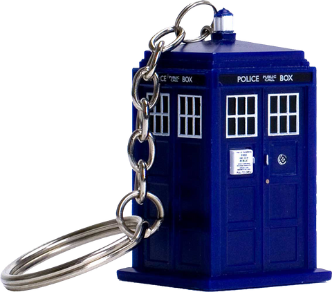 Doctor Who - TARDIS Light-up Keychain