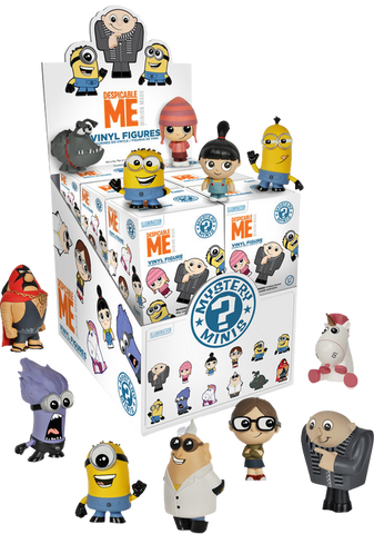 Despicable Me - Mystery Mini Blind Box Case of 12 Figures