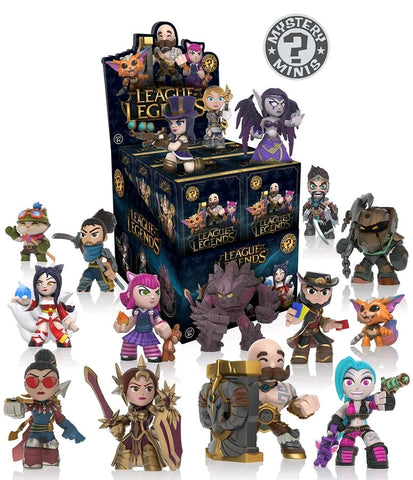 League of Legends - Mystery Mini Blind Box Case of 12 Figures