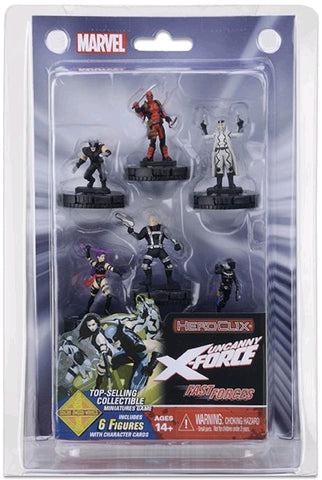 Deadpool - Heroclix Deadpool & X-Force Fast Forces 6-Pack
