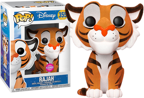Aladdin - Rajah Flocked Pop! Vinyl Figure