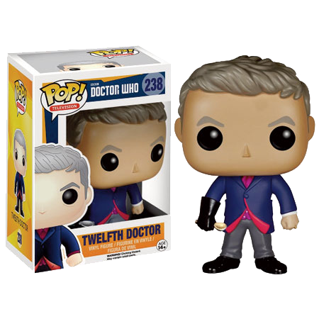 Doctor Who - Twelfth Doctor with Spoon Pop! Vinyl Figure