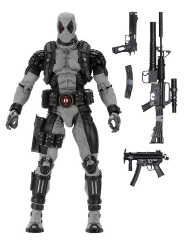 Deadpool - Deadpool X-Force Costume 1:4 Scale Action Figure
