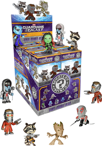 Guardians of the Galaxy - Mystery Mini Blind Box Case of 12 Figures