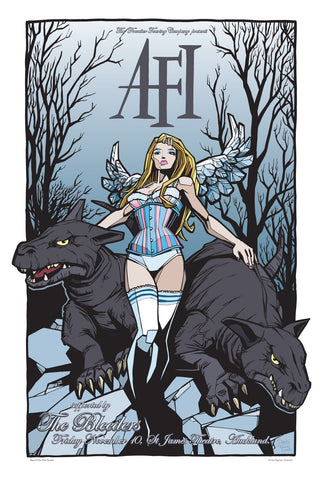 AFI & The Bleeders - 2006, St James Theatre, Auckland NZ Limited Edition Print
