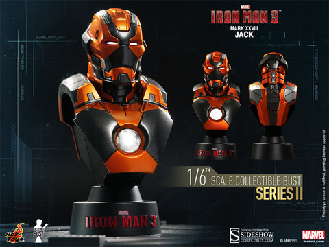 Iron Man 3 - Mark XXVIII Jack 1:6 Scale Bust