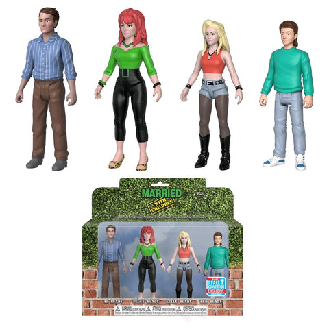Married with Children - Bundys NYCC 2018 Exclusive Action Figure 4-Pack - Pre-Order