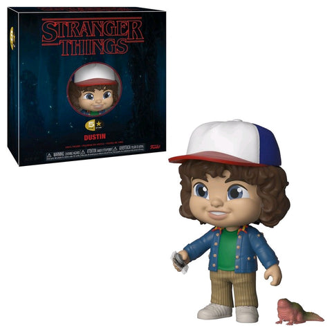 Stranger Things - Dustin 5-Star Vinyl Figure - Pre-Order