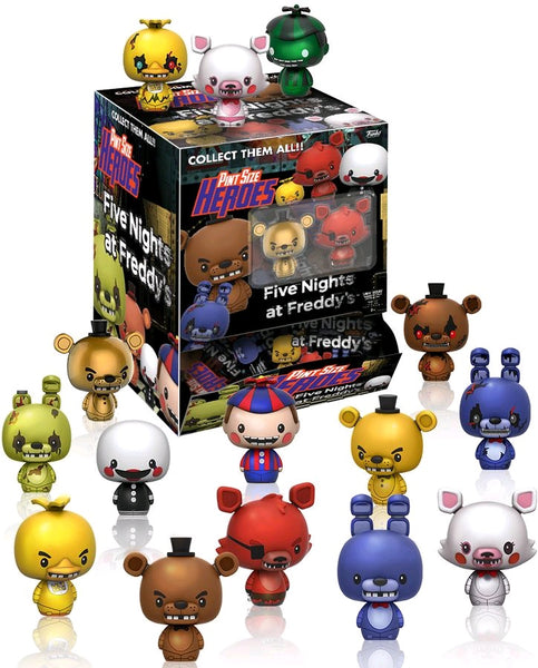 Five Nights at Freddy's - Pint Size Heroes Mystery Mini Blind Bags Case of 24 Figures