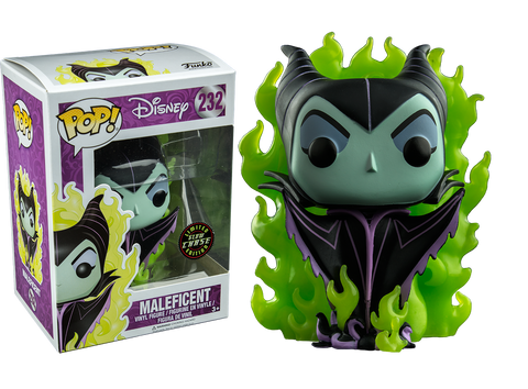 Sleeping Beauty - Maleficent Pop! Vinyl (Glow In The Dark Chase Variant) Figure