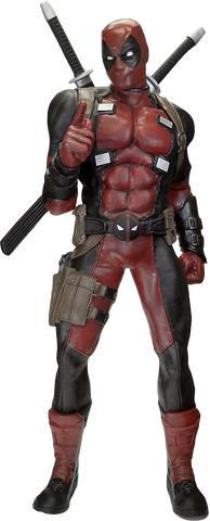 Deadpool - 1:1 Scale Life-Size Foam Replica - Pre-Order