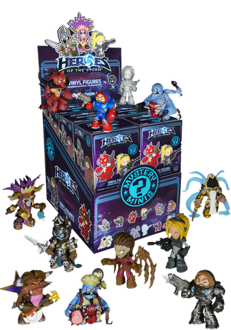 Heroes of the Storm - Mystery Mini Blind Box Case of 12 Figures