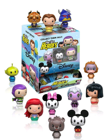 Disney - Pint Size Heroes Mystery Mini Blind Bags Case of 24 Figures