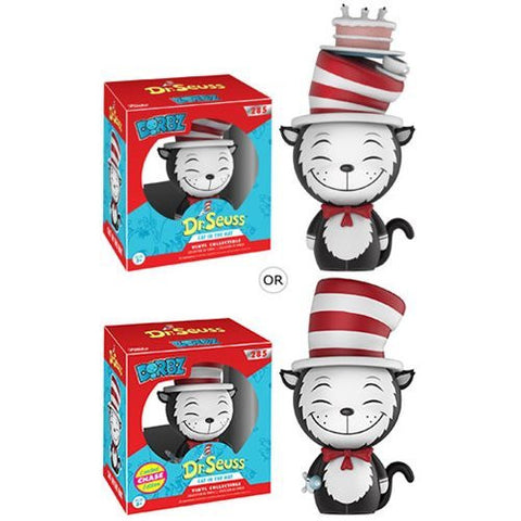 Dr. Seuss - Cat in the Hat Dorbz Vinyl Figure: Case with Chase