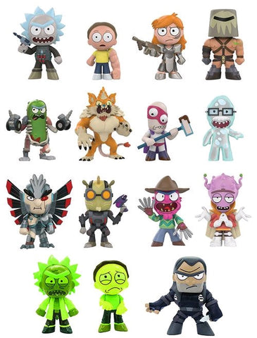 Rick and Morty - Series 02 Target Exclusive Mystery Mini Blind Box Case of 12 Figures - Pre-Order