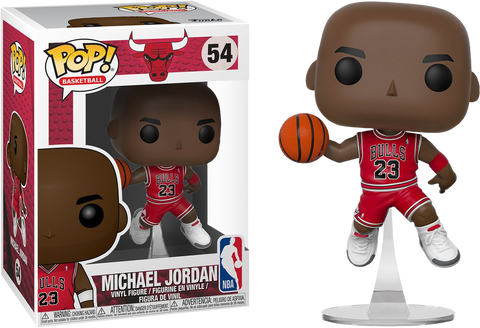 NBA Basketball - Michael Jordan Chicago Bulls Pop! Vinyl Figure - Pre-Order