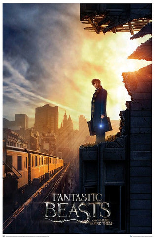 Fantastic Beasts and Where to Find Them - Amid the Rubble Limited Edition Print