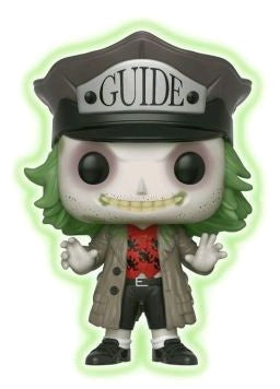 Beetlejuice - Beetlejuice with Hat Glow In The Dark Pop! Vinyl Figure - Pre-Order