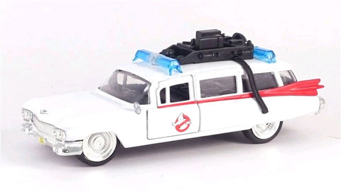 Ghostbusters - Ecto-1 1984 Hollywood Rides 1:32 Scale Diecast Vehicle