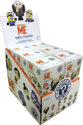 Despicable Me - Hot Topic Exclusive Mystery Mini Blind Box Case of 12 Figures