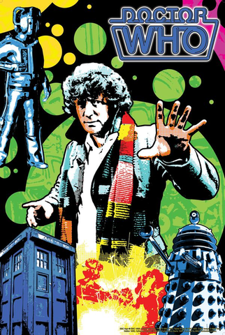 Doctor Who - 4th Doctor Retro Jigsaw Puzzle