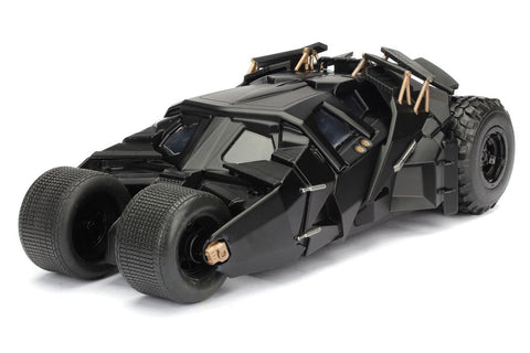 Batman - The Dark Knight Tumbler Batmobile with Figure 1:24 Scale - Pre-Order