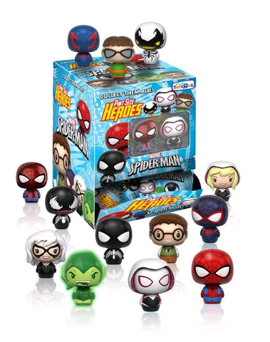 Spider-Man - Pint Size Heroes Toys R Us Exclusive: Case of 24 Blind Bags - Pre-Order