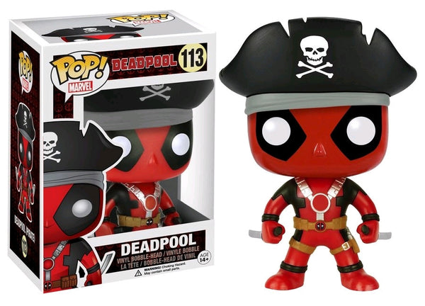 Deadpool - Pirate Deadpool Pop! Vinyl Figure