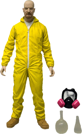 Breaking Bad - Walter White Hazmat Suit 6 Inch Action Figure